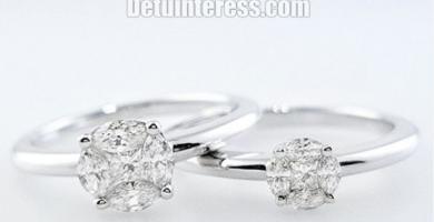 anillos de compromiso pandora