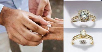 Tipos y significados de los anillos de compromiso en oro