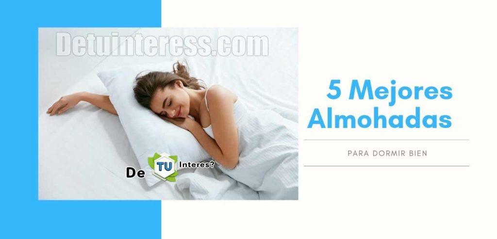 almohadas para dormir de lado