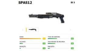 La SPAS12 es una escopeta que causa mucho daño pero de bajo rango