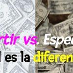Inversión y Especulación ¿cuál es la diferencia